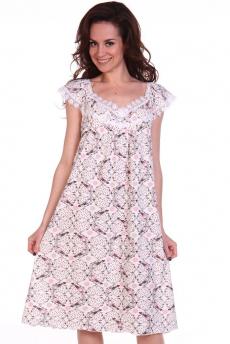 Свободная розовая ночная сорочка Modellini
