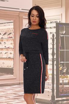 Новинка: трикотажное спортивное платье Натали